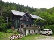 宿泊した朝日鉱泉ナチュラリストの家