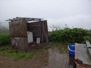 切合小屋の水場と洗濯場
