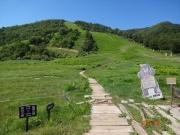和田小屋から始まる登山道