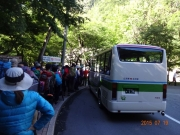 広河原~北沢峠行きバスには何とか乗車