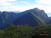 6合目過ぎで甲斐駒ヶ岳を眺望