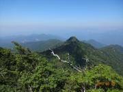 ガス気味の鹿俣山と玉原湖