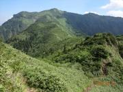 剣ヶ峰から沖武尊への縦走路