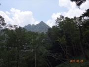コルから眺望する鋸山
