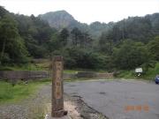 金精峠は海抜1842m。栃木と群馬の県境