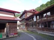 登山前日に宿泊した小谷温泉山田旅館