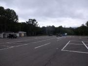 車中泊した笹ヶ峰駐車場
