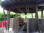 土佐佐賀温泉の東屋