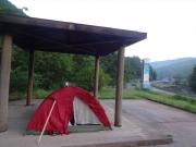 市野渡休憩所の東屋