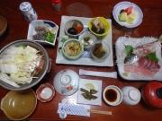 ホテル椿荘の夕食
