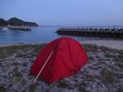 浅海町の海岸