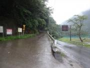 奈良田から櫛形山に向かう林道
