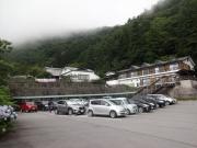 芦安駐車場・到着