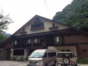 七倉山荘 - 雨上がりの3日早朝