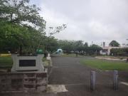 八幡公園で一休み
