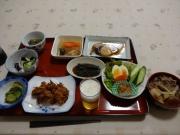 民宿さいとうの美味しい夕食