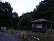東俣彫刻公園の東屋