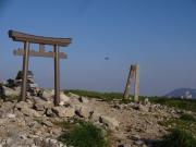 北俣岳山頂