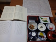 朝食と膳掛紙と吾妻山回想譜、吾妻小屋日記