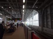 新青森駅から新幹線で出発