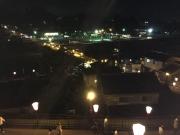 夜の八尾の町景色