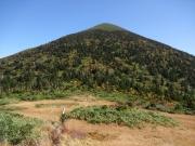 高田大岳を下山して振り返る