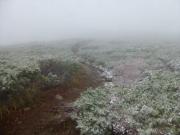 源太ヶ岳山頂から大深岳へ