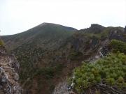 鬼ヶ城から岩手山への縦走路