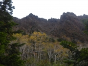 鬼ヶ城稜線と紅葉