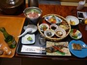 峡雲荘の夕食(サモダシ)