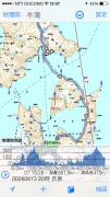 iPhone(FieldAccess)の地図画面