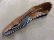 靴カット断面図