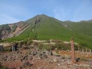鉾立峠から白口岳
