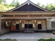 登山口の剣神社
