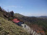 登山道途中の大剣神社