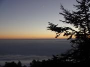 富士宮登山口からの夕景