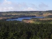 源太森から八幡沼を眺望