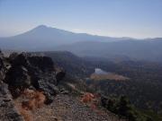 茶臼岳から岩手山を眺望