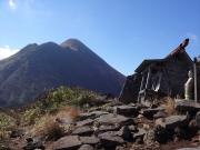 赤倉山・正観音広場から望む山頂