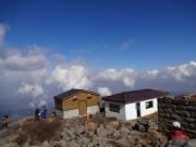 山頂から津軽半島北西を見下ろす