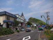 港に近づくと晴れのペシ岬