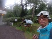清岳荘到着時はホッ