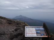 韓国岳と新燃岳と高千穂峰