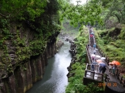 高千穂峡と遊歩道