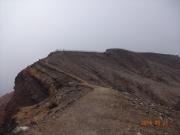 中岳からの稜線道