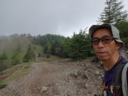 あと少しで山頂という所で霧発生