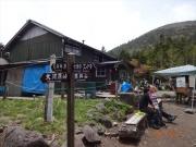 将軍平と蓼科山荘と山頂