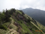 根子岳から四阿山への稜線道