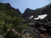 大雪山への登り道