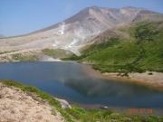 大雪山と沼
